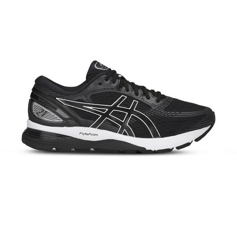 95a0f6511821 Men s Asics Gel Nimbus 21 2E Black Grey Shoe