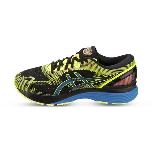 the best attitude dc235 4041d Men's Asics Gel Nimbus 21 SP Black/Green Shoe