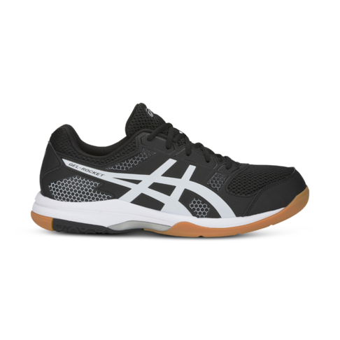 6b67a45d05ee Men s Asics Gel Rocket 8 Black White Shoe