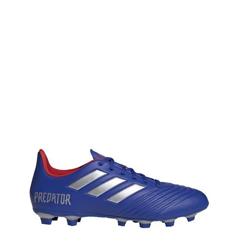 a2a431406f9 Men s adidas Predator 19.4 FG Blue Silver Boots
