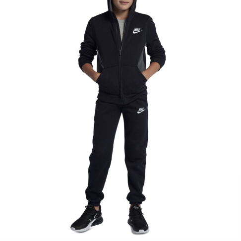 online store 44ff7 03f82 Boys Nike BF Black Tracksuit
