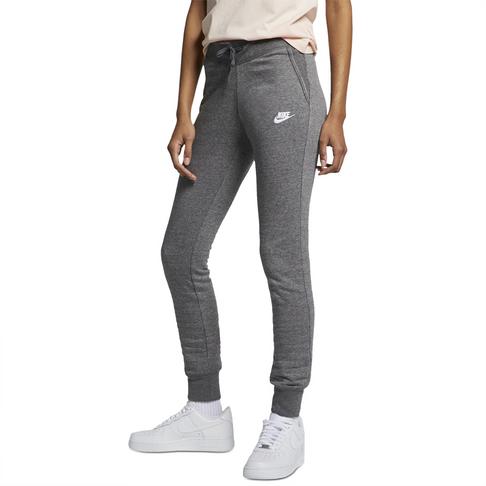 Women s Nike Sportswear Grey Fleece Tights 5df815abc