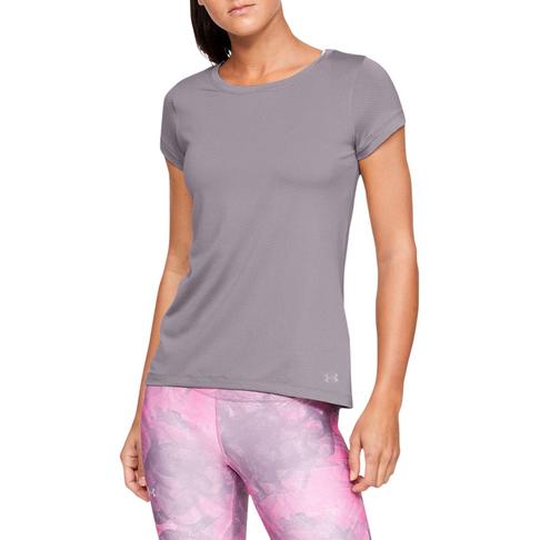 e27e9b78 Women's Under Armour HeatGear Armour Purple Short Sleeve Tee