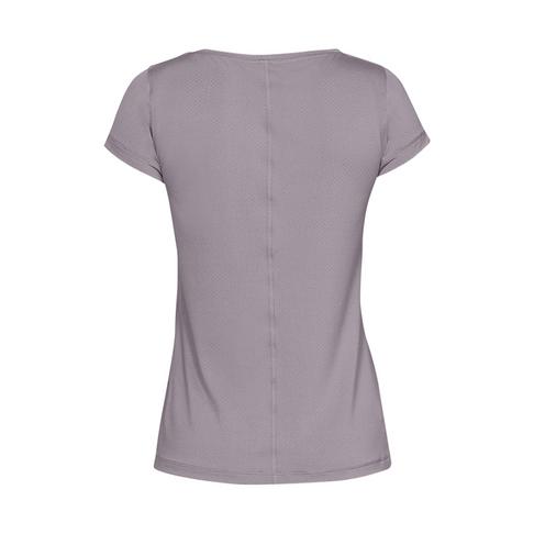 ef7aa14750 Women's Under Armour HeatGear Armour Purple Short Sleeve Tee
