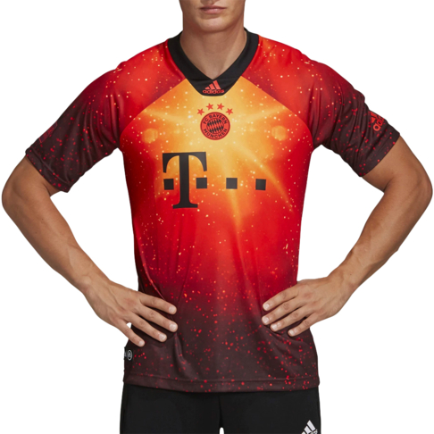 great fit da157 1a2d1 Men's adidas FC Bayern Munich EA Sports Jersey