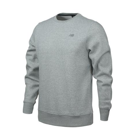 66d4f28b17e5e Men's New Balance Fleece Grey Crew