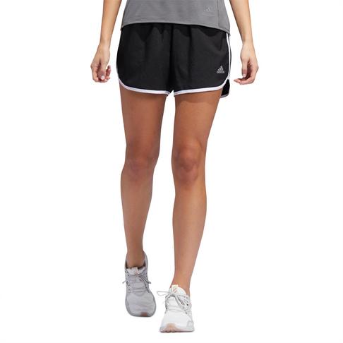 best website 88800 ace6b Women s adidas Marathon 20 Black Running Shorts