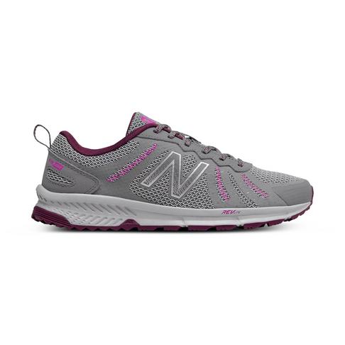 finest selection 991b3 12dfc Women's New Balance 590 Grey/Purple Shoe