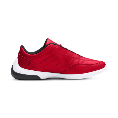 93238dbc2073 Junior Grade School Puma Ferrari Kart Cat III Red White Shoe