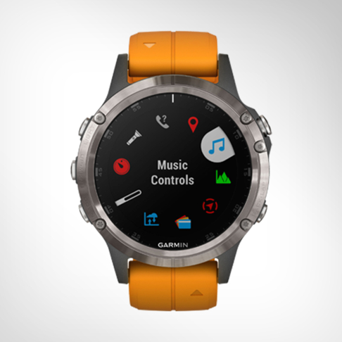 Garmin Fenix 5 Plus Sapphire Titanium GPS Watch