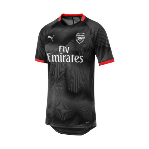 separation shoes 0aed8 13c06 Men's Puma Arsenal FC Graphic Black/Grey 2019 Jersey