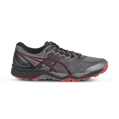 7ba7b4739463 Men s Asics Gel Fujitrabuco 6 Black Red Shoe