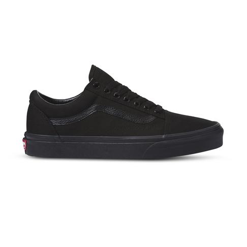 6ec70b1e Junior Grade School Vans Old Skool Black Shoe