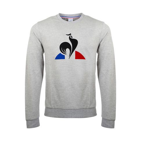 1e58726740 Men's Le Coq Sportif Essential Flock Grey Melange Sweat