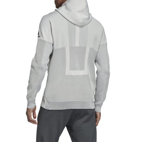separation shoes b2a7f b1e0c Men s adidas Z.N.E. Parley Raw White Hoodie