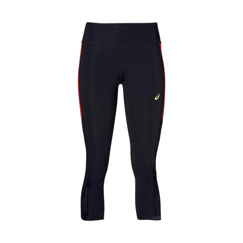 bb537702 Women's Asics Capri Black/Red Run Tights