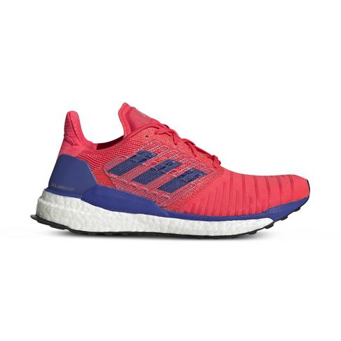 93232661974 Women's adidas Solar Boost Red/Blue Shoe
