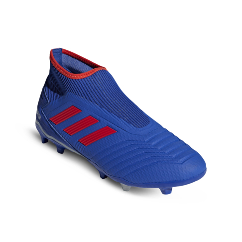 58b1d13ca Men s adidas Predator 19.3+ Laceless FG Blue Silver Boots