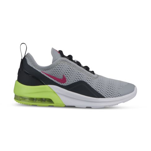 sports shoes d9cea 0d54f Junior Grade School Nike Max Motion 2 Grey/Pink/Black Shoe