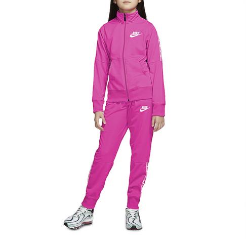 b4f5a8da84 Girls Nike Sportswear Pink Tracksuit
