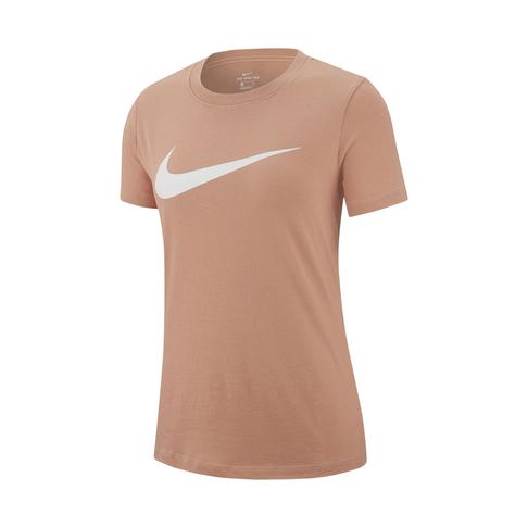 8be7f80a9 Women's Nike Sportswear Swoosh Rose Gold T-shirt
