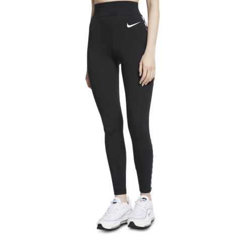 2c5ecc5369370 Women's Nike Hyper Femme Sportswear Black Graphic Leggings