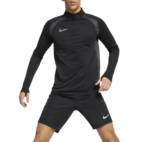 c82b762ec65 Men's Nike Dri-Fit Academy Soccer Black Drill Top