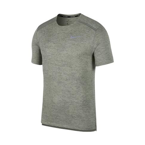 4782760ab0f42 Men's Nike Dri-Fit Miler Green Running Top