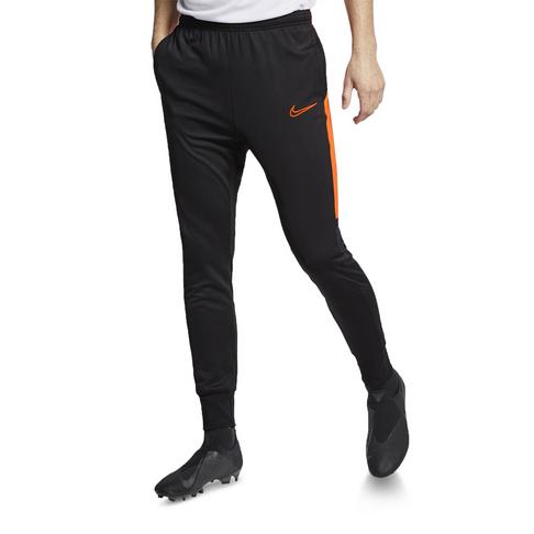 6bb892a56a Men's Nike Dri-Fit Academy Black/Orange Soccer Pants