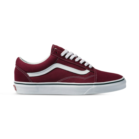 favorable price beautiful style fashion Women's Vans Old Skool Burgundy/White Shoe