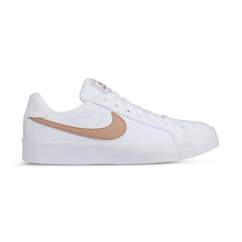 en soldes 5e983 de153 Women's Nike Court Royale AC SE White/Rose Gold Shoe