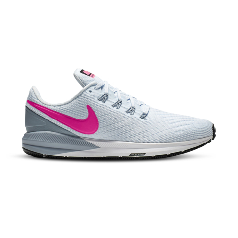 new styles 47ff1 4d4d1 Women's Nike Air Zoom Structure 22 Blue/Pink Shoe