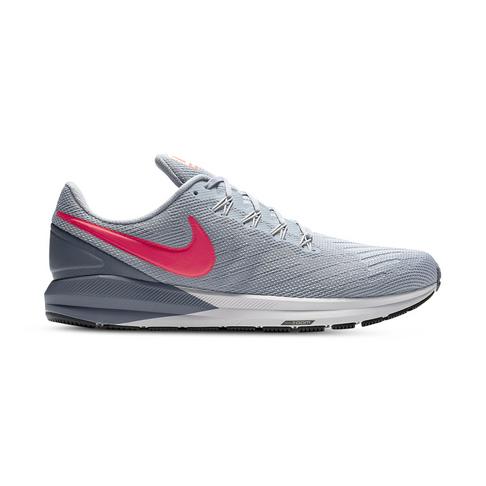 la moitié 72bb3 3da3f Men's Nike Air Zoom Structure 22 Grey/Red Shoe