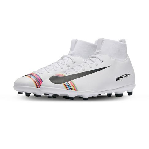 san francisco 37ea8 f815a Junior Nike CR7 Superfly 6 Club MG White/Black Boots