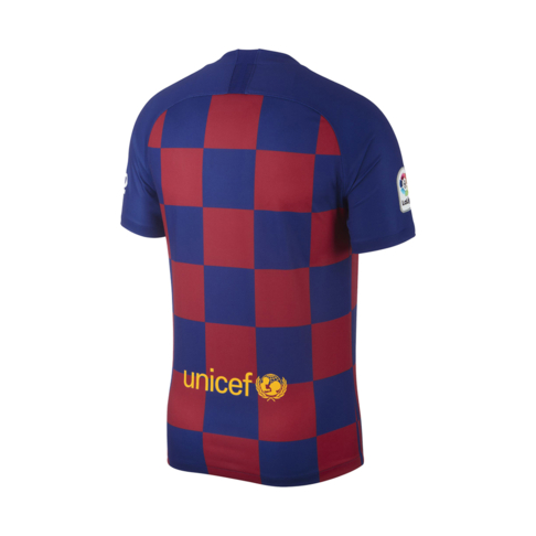 sneakers for cheap 1bcea 7375f Men's Nike FC Barcelona Stadium Home Jersey