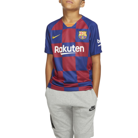check out 944cf 2ac19 Junior Nike FC Barcelona Stadium Home Jersey