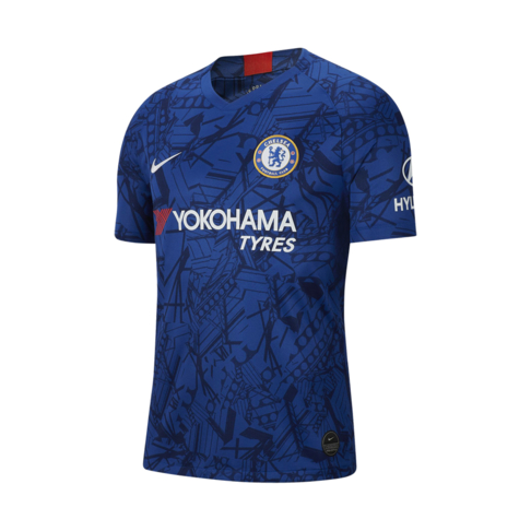 best service 0cd81 ddb37 Men's Nike Chelsea FC Stadium Home 2019/20 Replica Jersey