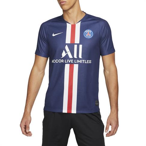 hot sale online 9fe69 cc22c Men's Nike Paris Saint-Germain 2019/20 Stadium Home Jersey
