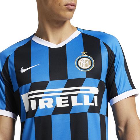 huge selection of 1f2b5 32f05 Men's Nike Inter Milan 2019/20 Replica Home Jersey