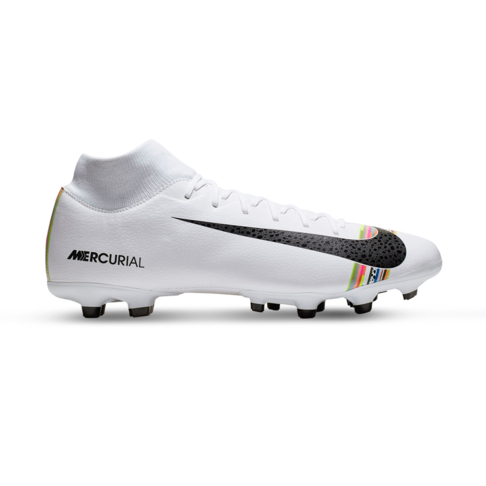 new styles d4e14 aebbd Men's Nike CR7 Superfly 6 Academy MG White/Black Boot