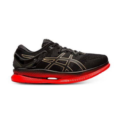 0c40489f0223 Men s Asics MetaRide Black Red Shoe