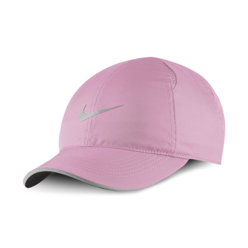 fantastic savings latest cheap for discount Nike Featherlight Pink Rise Running Cap