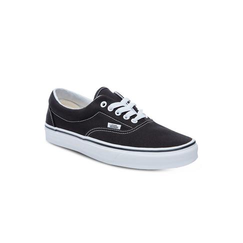 Men s Vans Era Black White Shoe d9812a977