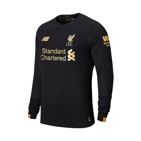 7cb5666f2 Men s New Balance Liverpool Home Goalkeeper Long Sleeve Jersey