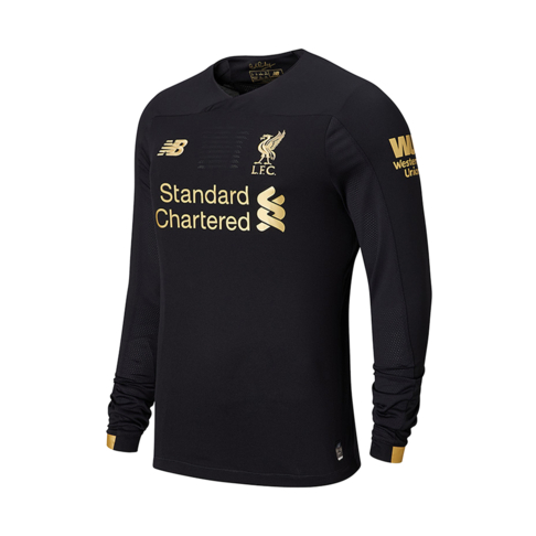 finest selection 54999 84c34 Men's New Balance Liverpool Home Goalkeeper Long Sleeve Jersey