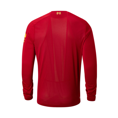 dda26e17c24 Men s New Balance Liverpool Long Sleeve Home Jersey 2019 20