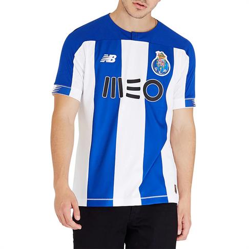 best service 3ef4f bd1b5 Men's New Balance FC Porto Replica Home Jersey