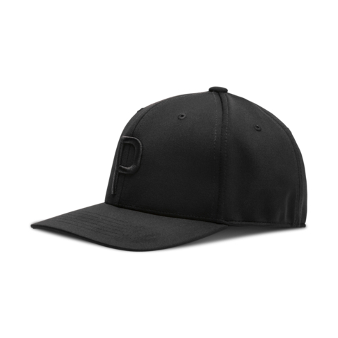 db00baeefa0 Puma Golf P110 Black Snapback Cap