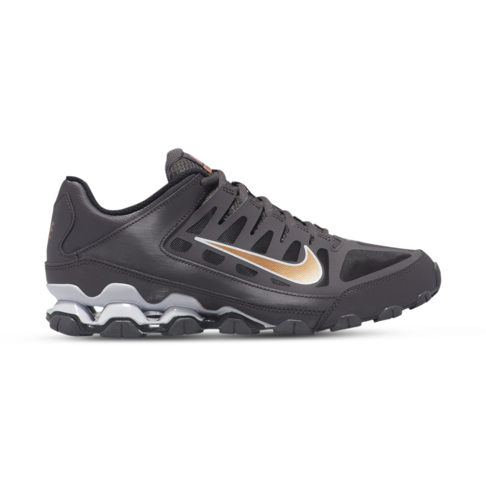 new product official later Men's Nike Reax 8 TR Mesh Grey/Gold Shoe