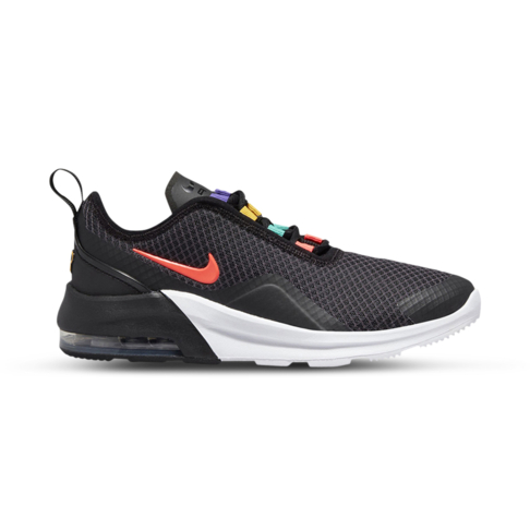 new products 26778 dec2a Junior Grade School Nike Air Max Motion 2 Black/Red/Purple Shoe